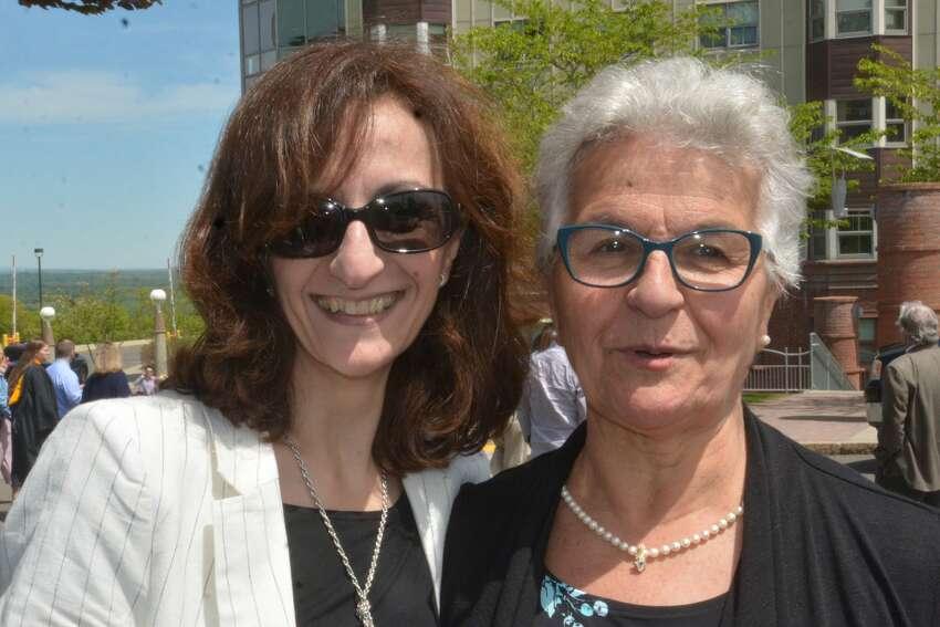 Quinnipiac University's health science and nursing undergraduate students graduated on May 18, 2019 at the Lender Center in Hamden.