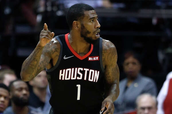 In 20 regular-season games with the Rockets, Iman Shumpert averaged 4.6 points, making 34.7 percent of his shots and 29.6 percent of his 3-pointers.