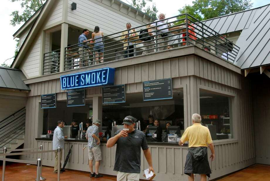 Blue Smoke at Saratoga Race Course (Cindy Schultz / Times Union) Photo: CINDY SCHULTZ / 00009610A