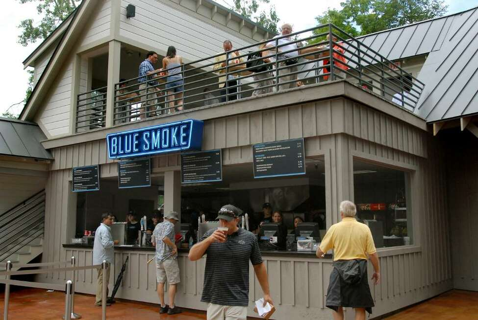 Blue Smoke at Saratoga Race Course (Cindy Schultz / Times Union)
