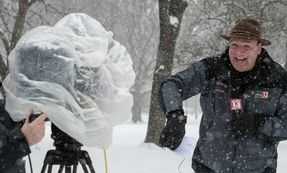 Many people know me for my Stetson hat. I began wearing it one Thanksgiving Eve, when I had to cover a snow storm. Telling others to dress warmly meant I should too. It's become a staple ever since.
