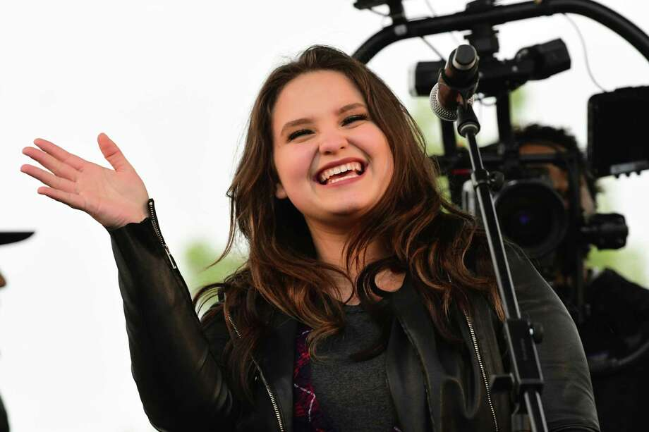 American Idol finalist Madison VanDenburg will be performing at Saratoga Race Course. Keep clicking for more locals who found fame on reality TV. Photo: Lori Van Buren / 20046930A