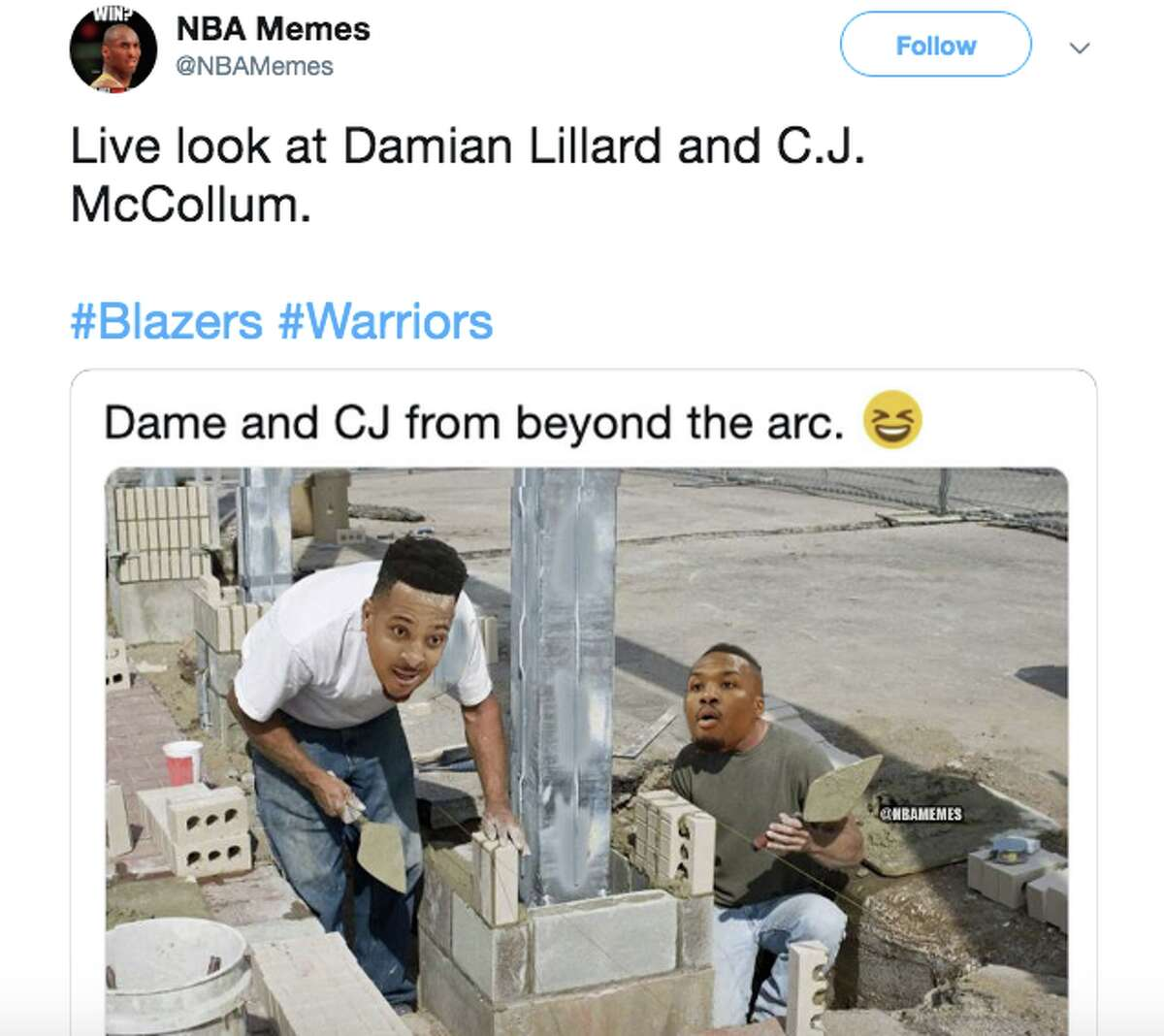 The Portland Trail Blazers were brutally roasted after blowing another double-digit lead to the Warriors.