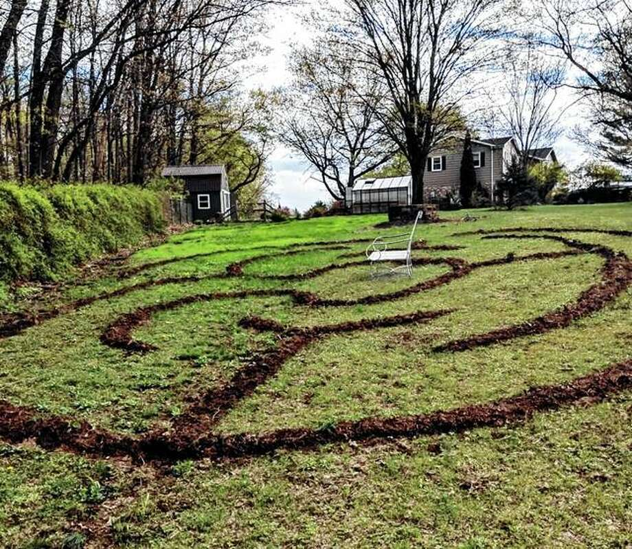 Follow the path in a labyrinth like this one in Greencastle, Pennsylvania, and you will wend your way to the center no matter which turn you choose to take. Photo: Lisa Skiles | Lee Reich Via AP
