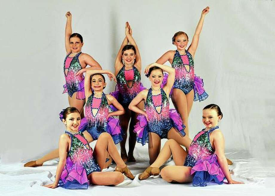 "Stevens School of Dance and Gymnastics will have its 45th annual recital at 7 p.m. Friday and 2 and 7 p.m. Saturday at Jacksonville High School's auditorium. Tickets are $12. The dancers pictured will be performing a jazz routine titled ""Ay Caramba"". Photo: Photo Provided"