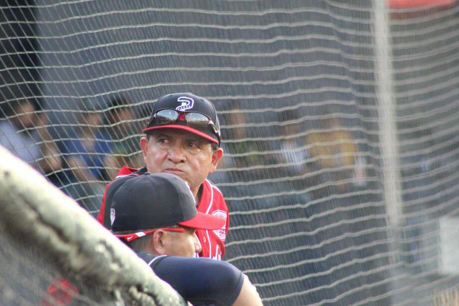 "Alfonso ""Houston"" Jiménez was hired as the new manager for the Tecolotes Dos Laredos on Saturday. The Tecos fell 8-5 in their first game under Jiménez against the Rieleros. Photo: Courtesy Of The Tecolotes Dos Laredos"