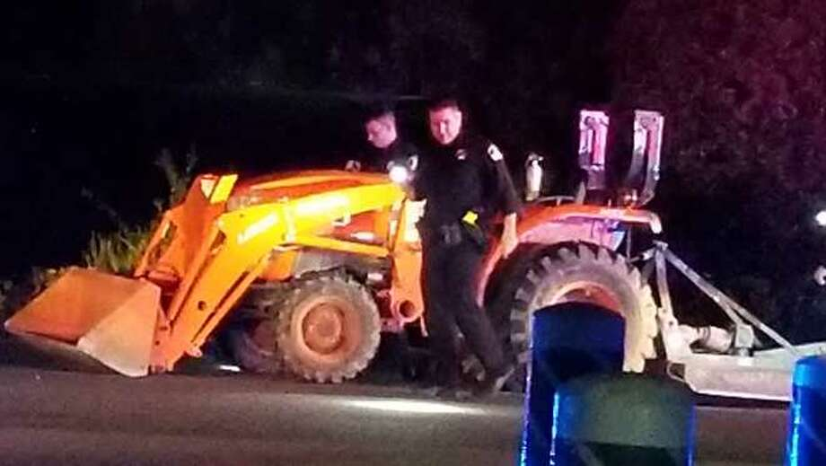 'Very low speed' tractor chase ends with arrest in Rancho Cordova