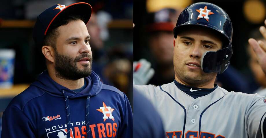 PHOTOS: Astros game-by-game Split photo of Astros' Jose Altuve and Aledmys Diaz. Browse through the photos to see how the Astros have fared in each game this season. Photo: AP Photo/Paul Sancya/Carlos Osorio