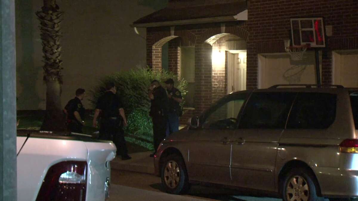 A intruder who allegedly broke into a home died after being shot multiple times