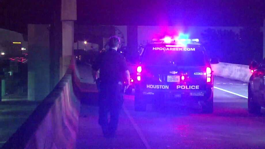 Two motorcyclists shot near I-45 North Freeway on Sunday morning Photo: Metro Video Services