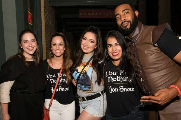San Antonio celebrated Game of Thrones by going to seven downtown bars that represented the seven kingdoms on Saturday, May 18, 2019.