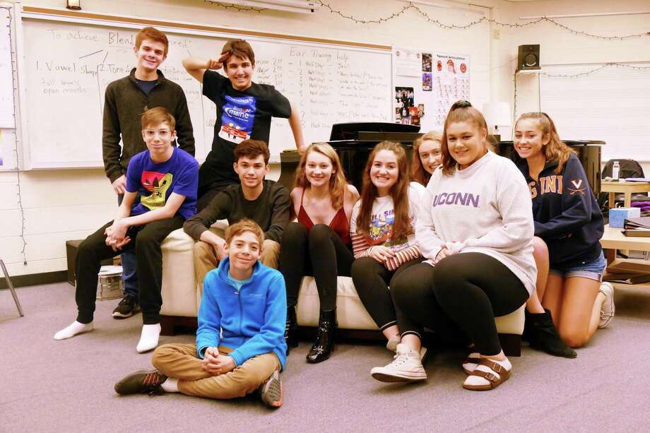 """The cast of """"The High School Experience: A Tragicomedy in One Act."""" Photo: Stephen Coulter / Contributed Photo"""