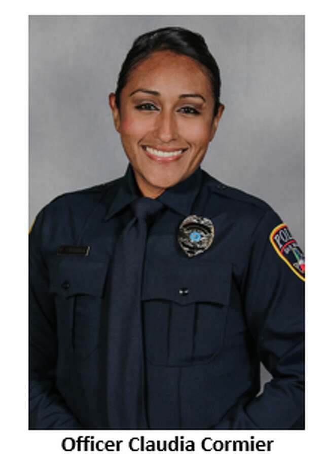 Service photo of Claudia Cormier of the San Marcos Police Department. Photo: Courtesy San Marcos Police Department