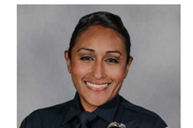 Service photo of Claudia Cormier of the San Marcos Police Department.