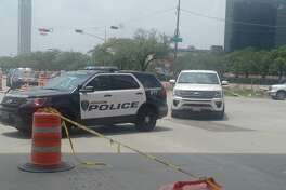 HPD officer struck while directing traffic near Galleria