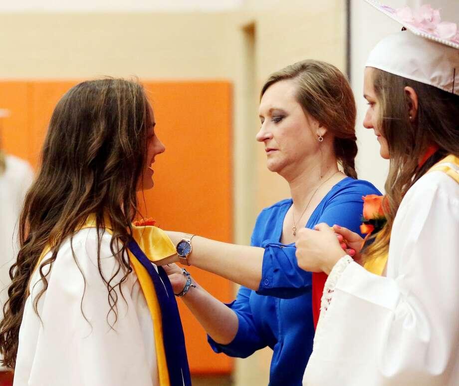 Ubly Graduation Photo: Paul P. Adams/Huron Daily Tribune