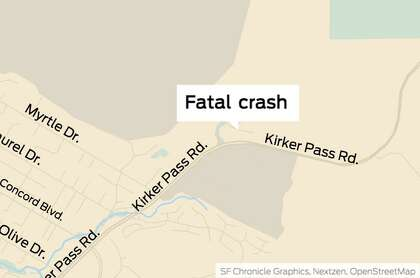 Driver dies in late-night Concord crash - SFChronicle com