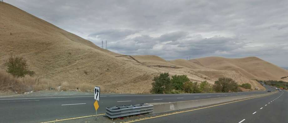 The accident led to the closure of the southbound lanes of Kirker Pass Road at Hess Road (pictured) for more than three hours.  Photo: Google Maps