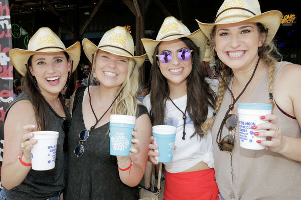 Attendees of Karbach Brewery's 3nd Annual Love Street Music Fest on Sunday, May 19, 2019 in Houston.