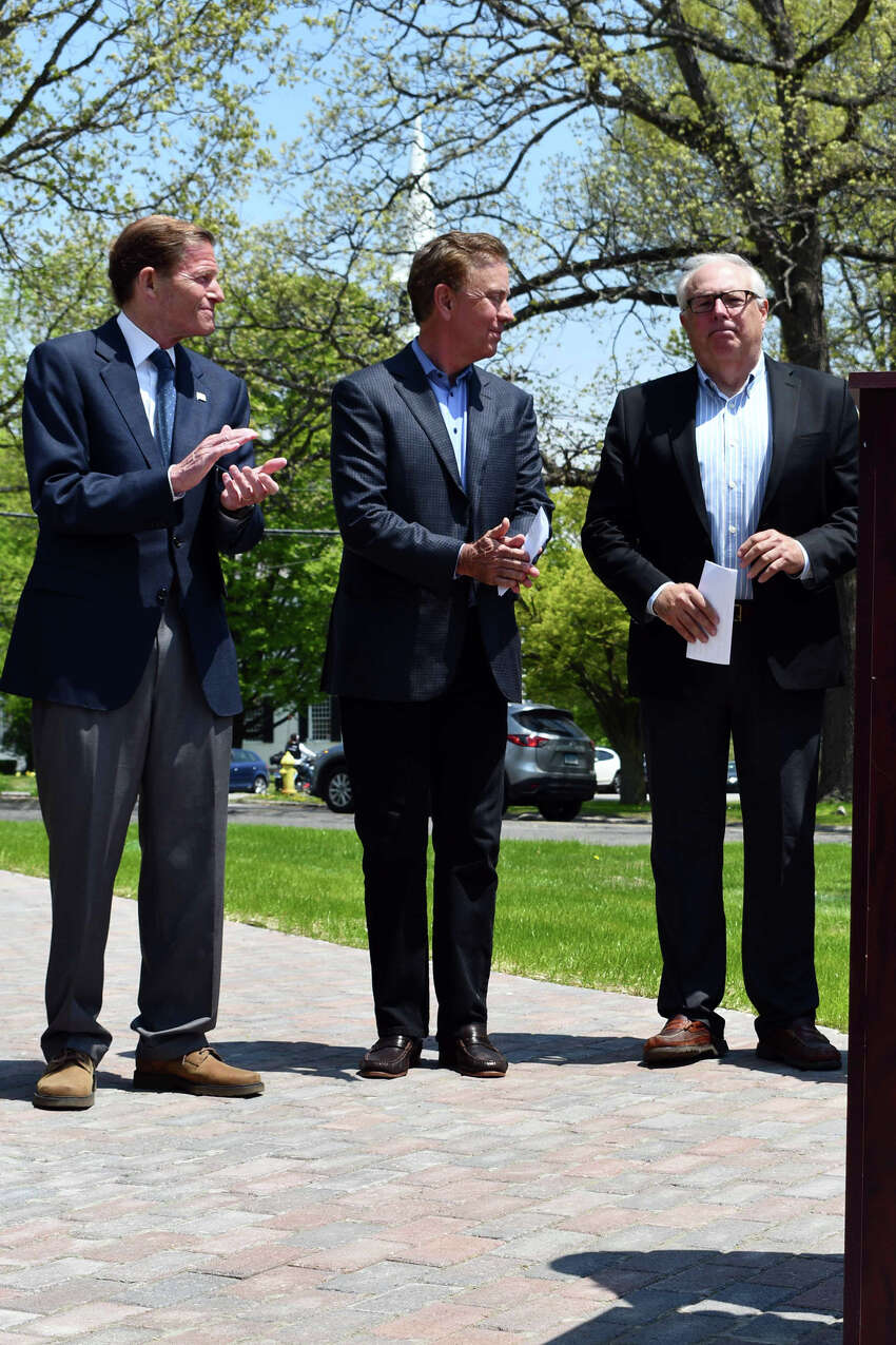 The town of Litchfield kicked off its 300th anniversary celebration May 19, 2019, on the Green, marking the town's birthday with a service, speeches and a special flag. An ecumenical service was held at The Litchfield Congregational Church, followed by a processional to the Green. Dignitaries including Gov. Ned Lamont, local legislators and leaders spoke about the towns history.