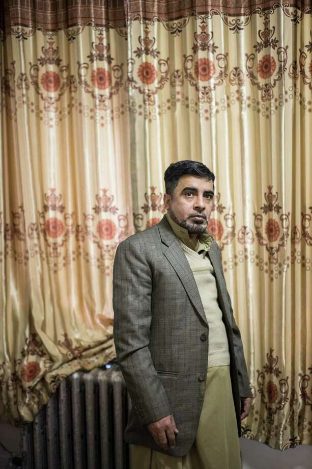 Muhammad Ashraf, a Pakistani immigrant and cabbie who said that a broker duped him into a $780,000 interest-only loan for a medallion, at home in Brooklyn, Feb. 17, 2019. Powerful industry leaders made untold millions by artificially driving up the price of taxi medallions; now as competition from Uber and Lyft remakes the industry, drivers like Ashraf find themselves in ruin. (Kholood Eid/The New York Times) Photo: KHOLOOD EID / NYTNS