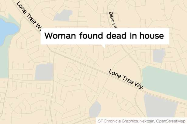 The woman's body was found in an Antioch house about a quarter mile northwest of Deer Valley High School.