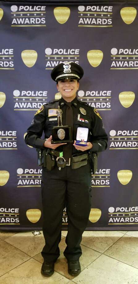 Officer Adriana Hernandez earned the 2019 Officer of the Year award. Photo: Courtesy Photo