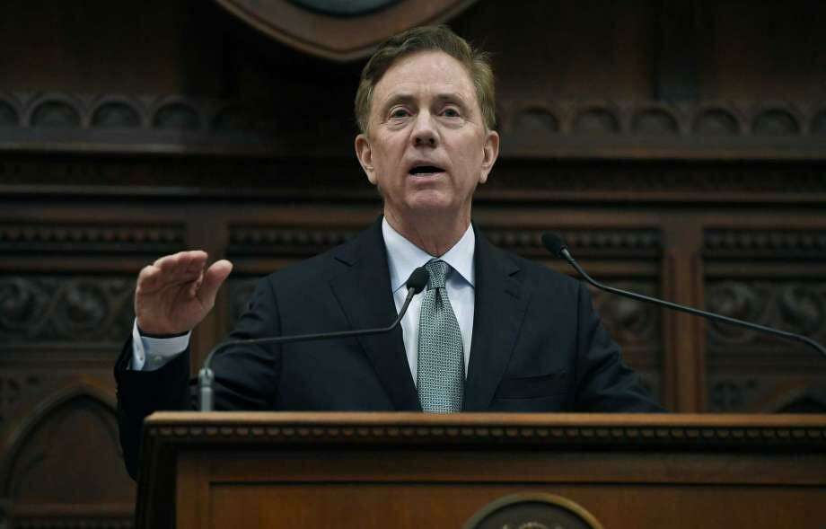 Gov. Ned Lamont delivers his budget address at the State Capitol in Hartford on Feb. 20. Some legislators say it seems Lamont has a slippery grasp on details of proposed legislation. Photo: Jessica Hill / Associated Press /