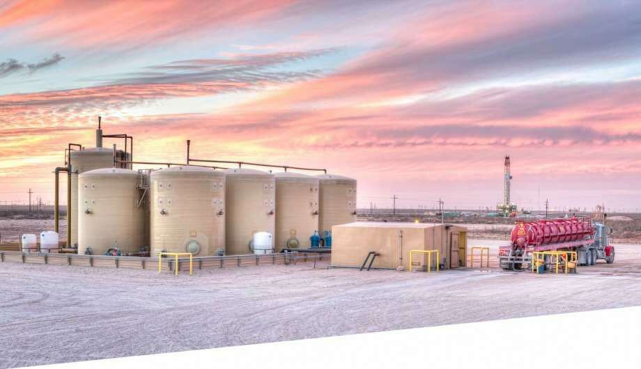 Lubbock oilfield service company SitePro has rolled out a new mobile app that allows users to monitor and control wastewater systems in the oil patch. Photo: Courtesy Photo / WaterBridge Resources LLC