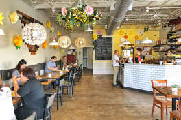 Dandelion Cafe in Bellaire shows its new spring decor and menu.