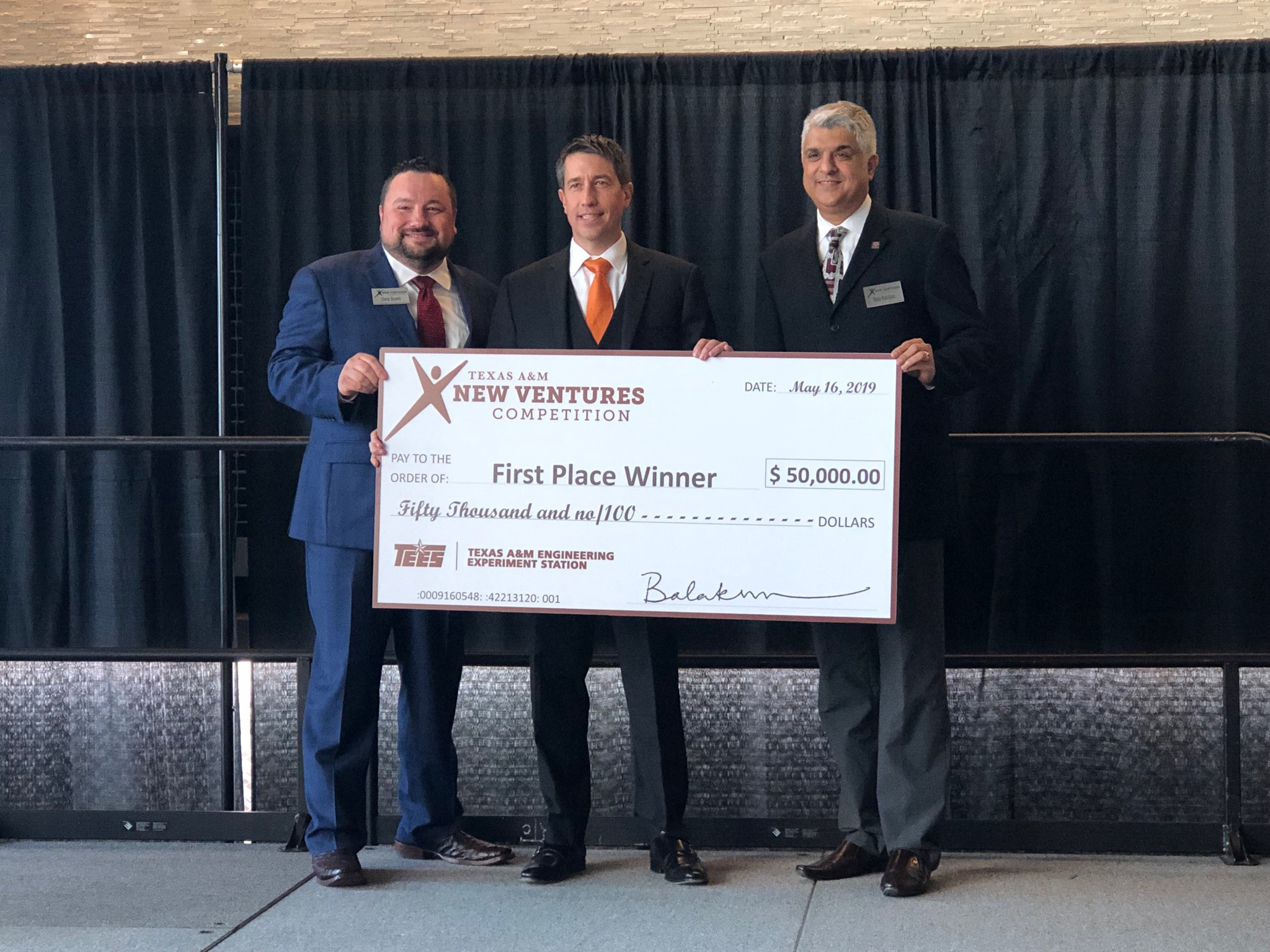 Friendswood company wins Texas A&M New Ventures Competition