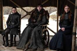 "The surviving Starks reunited on the series finale of ""Game of Thrones."""