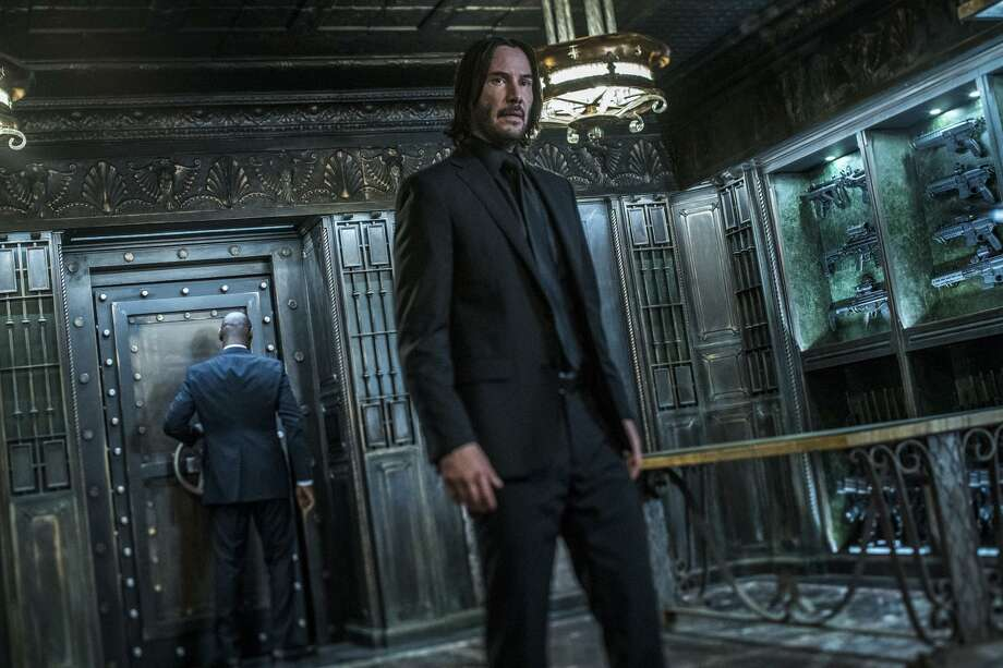 """The third installment of the """"John Wick"""" franchise has taken the top spot at the North American box office. Photo: Niko Tavernise /Associated Press / ©2018 Niko Tavernise"""
