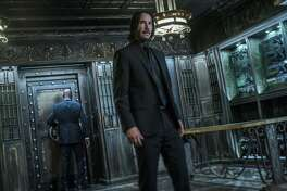 "The third installment of the ""John Wick"" franchise has taken the top spot at the North American box office."
