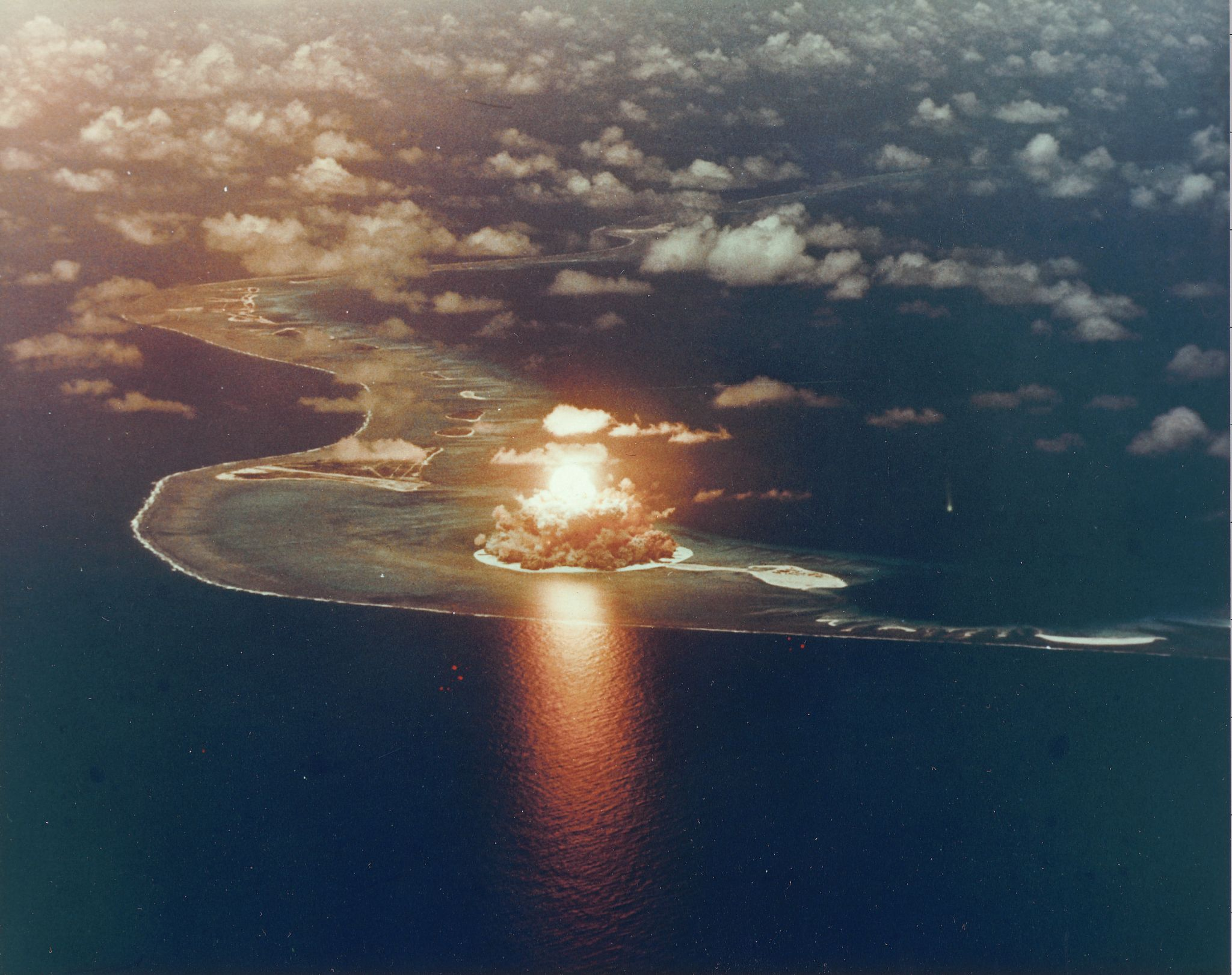 The US put nuclear waste under a dome on a Pacific island. Now it's cracking open.