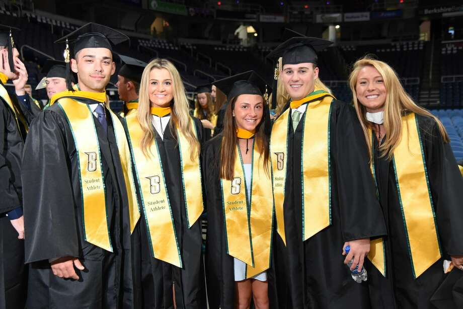 Were you Seen at Siena College's commencement ceremony on Sunday, May 12, 2019 at Times Union Center in Albany, NY? Photo: Siena College