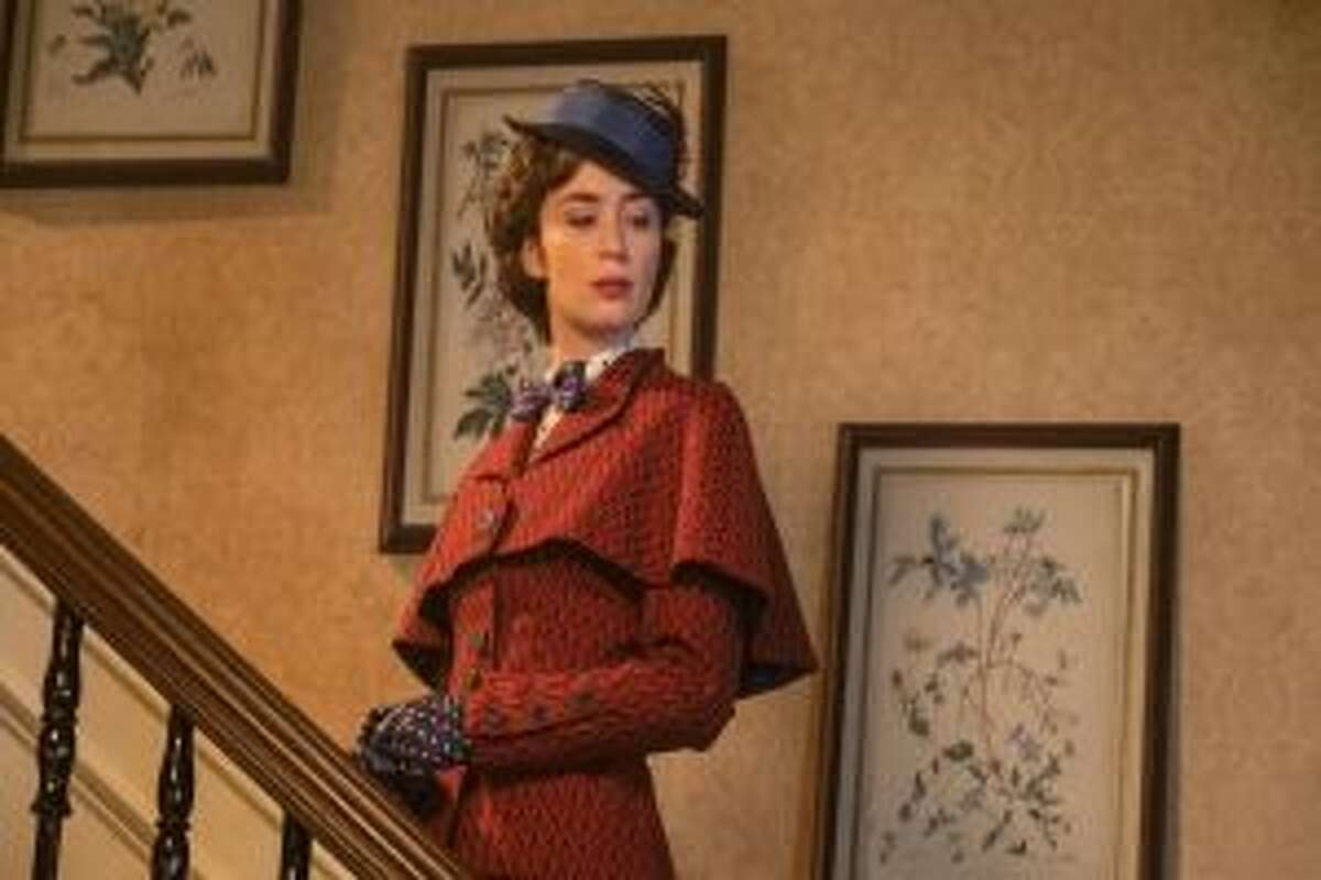 Emily Blunt stars in the role of everyone's favorite nanny in Mary Poppins Returns.