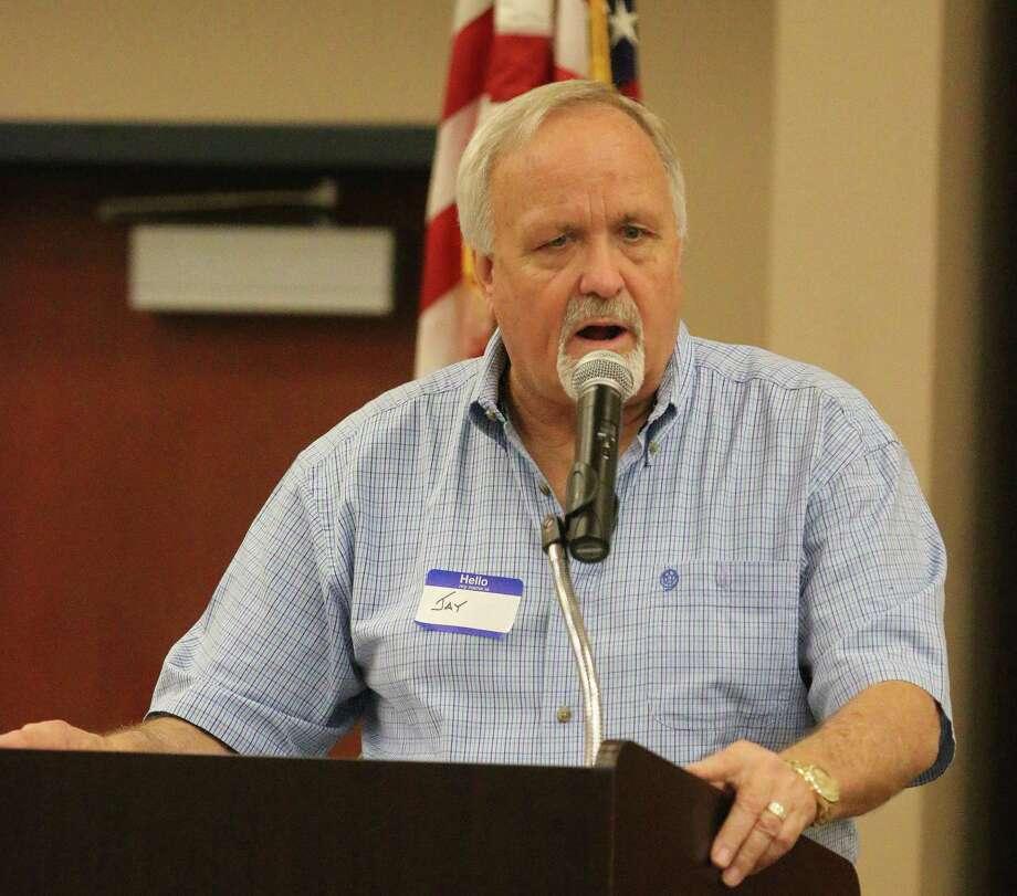 County Judge Jay Knight Photo: David Taylor / Staff Photo