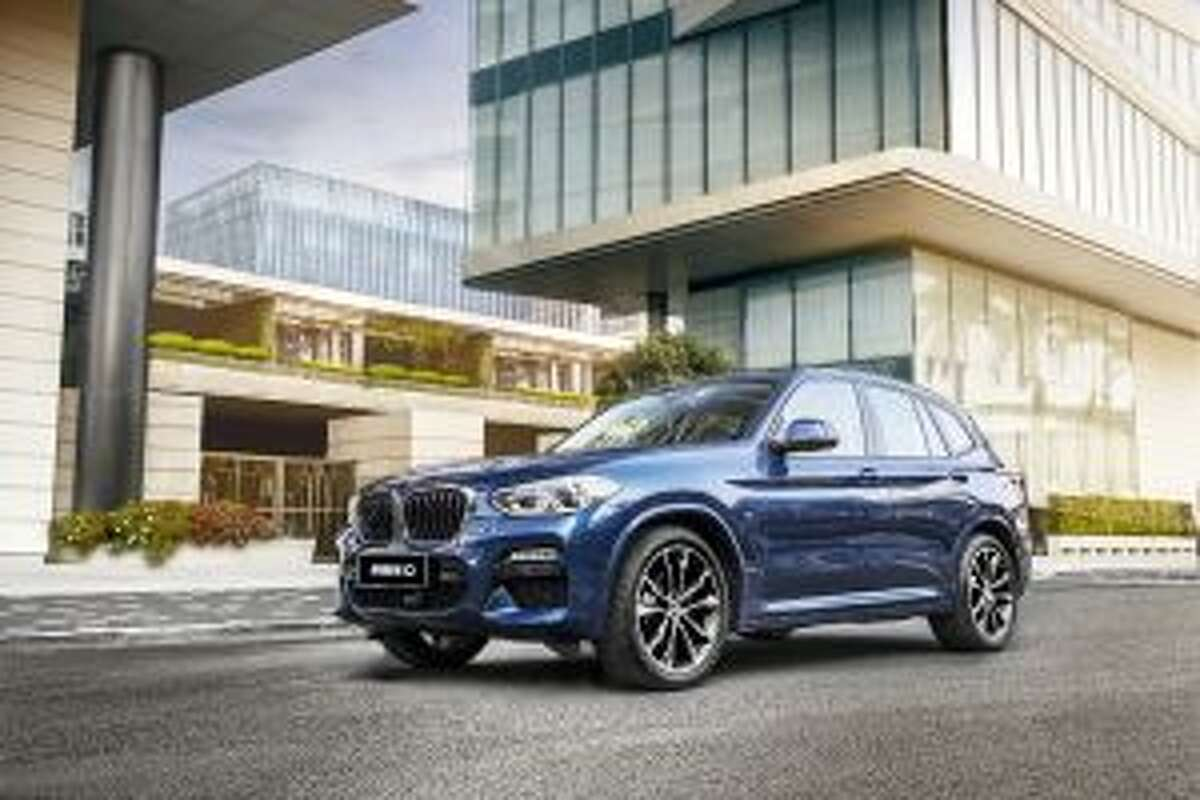 The BMW X3 was named a Top Safety Pick Plus by the Insurance Institute for Highway Safety. - Courtesy of BMW Press Club Global
