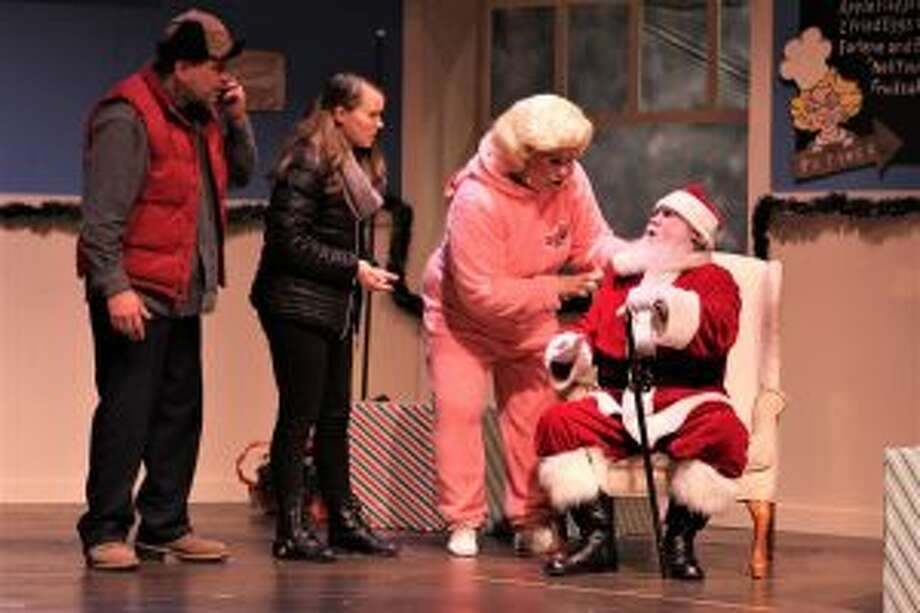 """""""Christmas Eve at Earlene's Diner"""" runs through Dec. 19 at Seven Angels Theatre in Waterbury."""