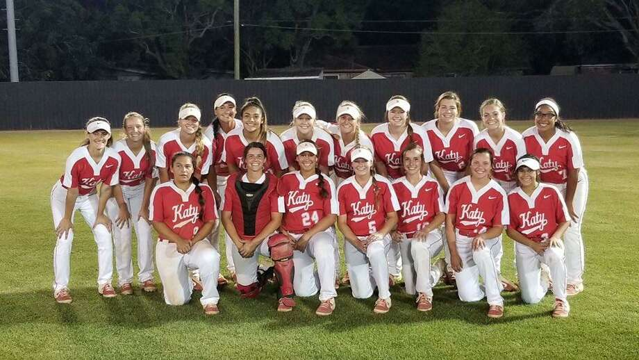 The Katy softball team will play in its fifth consecutive regional championship series after a 4-1, 7-4 sweep of Alvin in the III-6A semifinals. The Tigers face Deer Park in a meeting of recent state champions. Photo: Katy High School / Katy High School