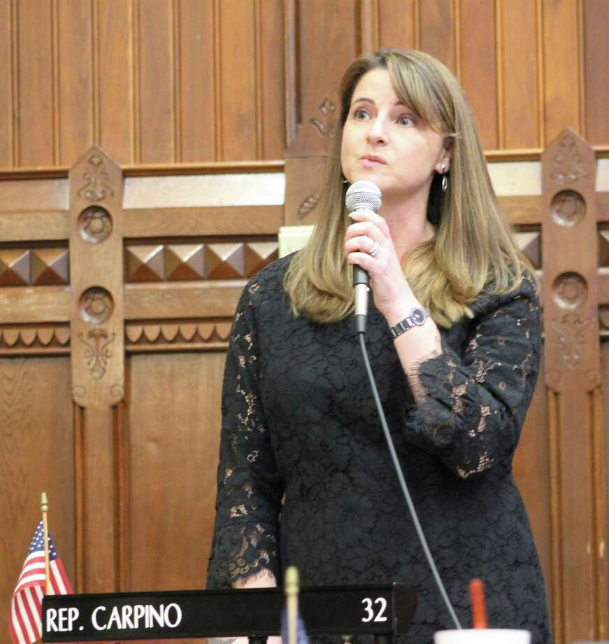State Rep. Christie Carpino's employment expansion legislation was recently approved by the Connecticut House of Representatives. Photo: Contributed Photo