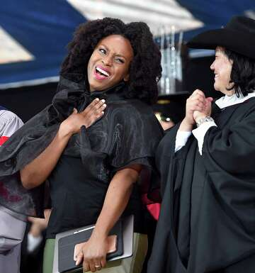 Yale honors those who champion causes of others at graduation