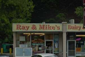 The Ray & Mike's Deli on Whitney Avenue.