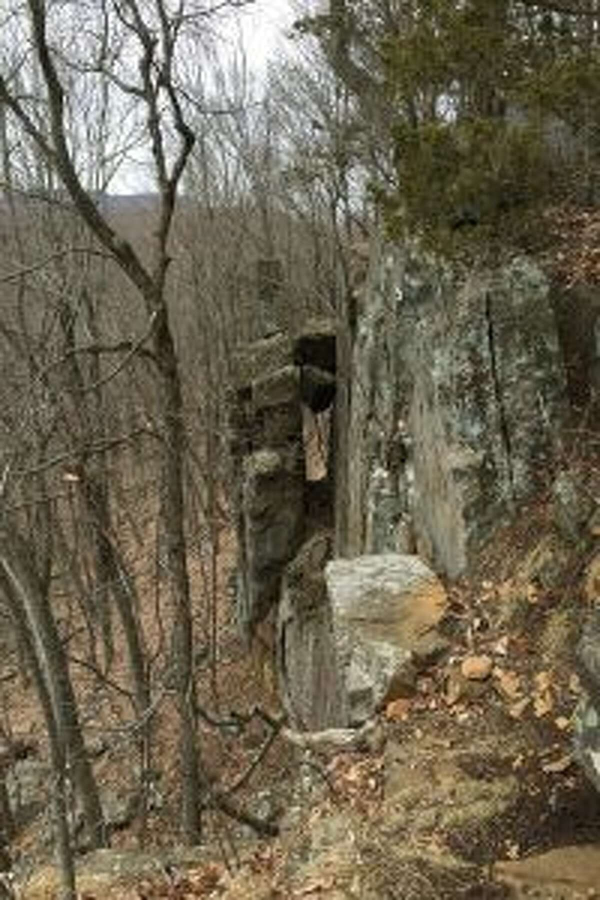 Cliff on Ragged Mountain.