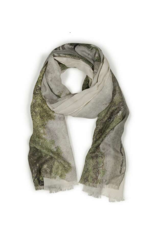 Akris' Albert Kriemler collaborated with the architects of the Menil Drawing Institute – Johnston Marklee, on the attached cashmere/silk scarf. This is now available for pre-order at the Menil Bookstore and also at the Akris boutique in River Oaks District. The scarf retails for $895 and is a photo print of the Drawing Institute.   Photo: Akris