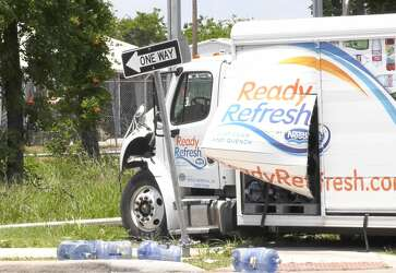 Elderly woman dead after water truck runs red light in Northwest