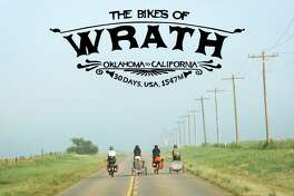Poster for the documentary 'The Bikes of Wrath'