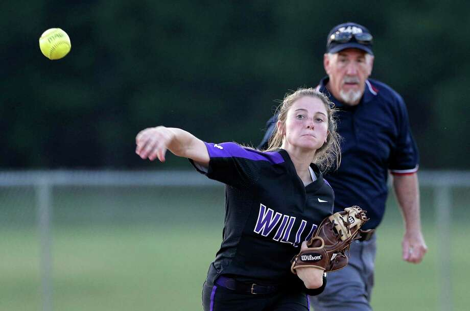 Willis shortstop Hannah Earls (6) was selected as the District 20-5A Defensive Player of the Year Photo: Michael Wyke, Houston Chronicle / Contributor / © 2019 Houston Chronicle