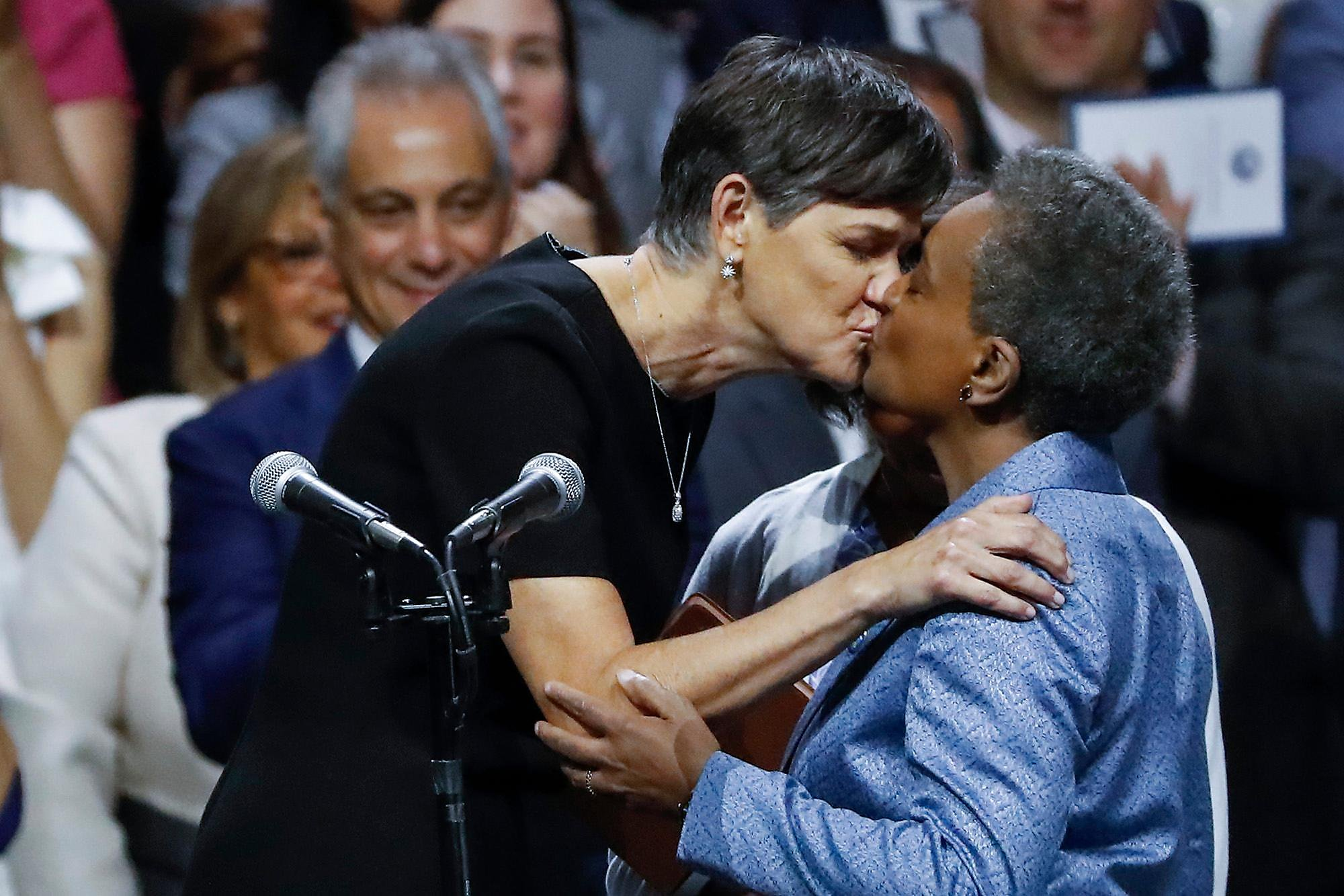 New Chicago Mayor Represents Many Historic Firsts In high school, she played on the basketball and tennis teams; new chicago mayor represents many